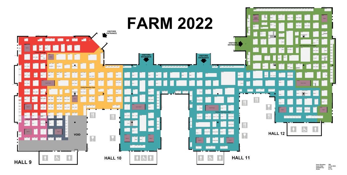 The Country House Innovation Expo floorplan